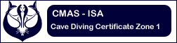 Cave Diving Zone 1 Certificate
